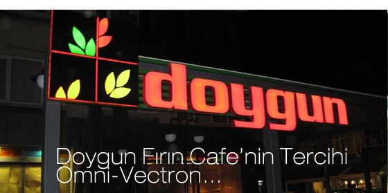 DOYGUN FIRIN CAFE'NİN TERCİHİ OMNİ-VECTRON…