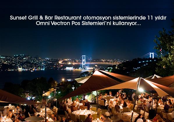 Sunset Grill & Bar Restoran otomasyon sistemlerinde 11 yıldır Omni Vectron POS Sistemleri'ni kullanıyor…
