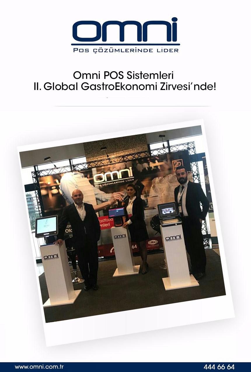 Omni POS Sistemleri II. Global GastroEkonomi Zirvesi'nde!