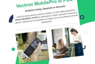 Vectron MobilePro III POS – Kullanımı Kolay, Dayanıklı ve Güvenilir