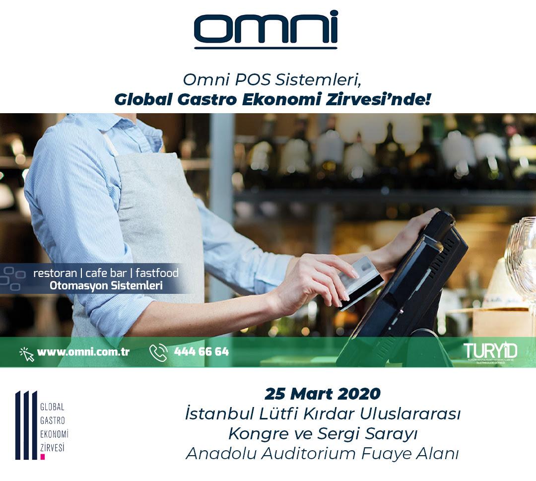 Omni POS Sistemleri, Global Gastro Ekonomi Zirvesi'nde!