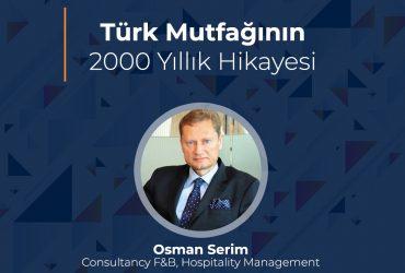 Zoom Webinar – Türk Mutfağının 2000 Yıllık Hikayesi